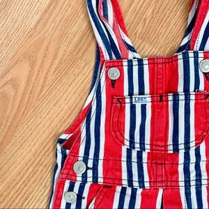 Lee • Vintage Striped Denim Shortall's